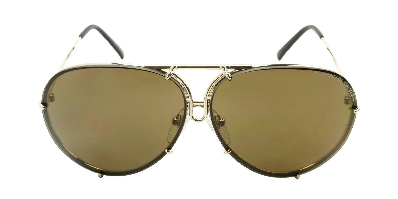 a48439fc03b Porsche Design - P8478 Gold - Brown sunglasses