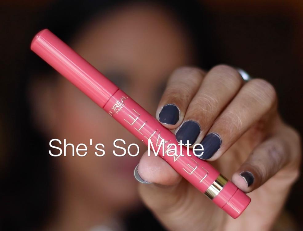 L'Oreal Color Riche Le Matte Lip Pen Review Swatches