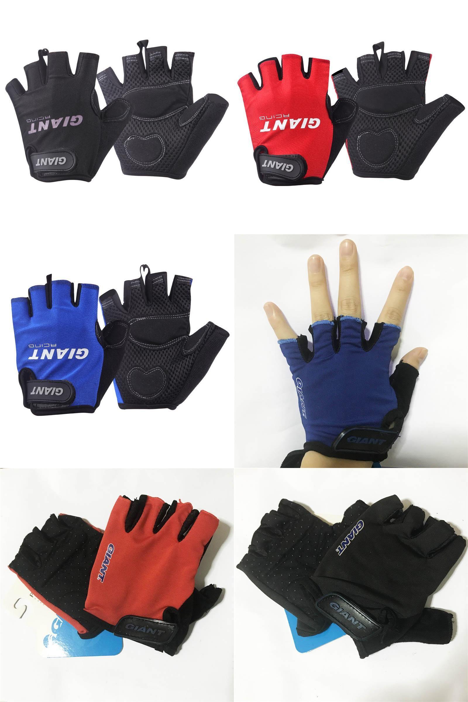 Half Finger Cycling Gloves Anti Slip Gel Breathable For Motorcycle MTB Road Bike