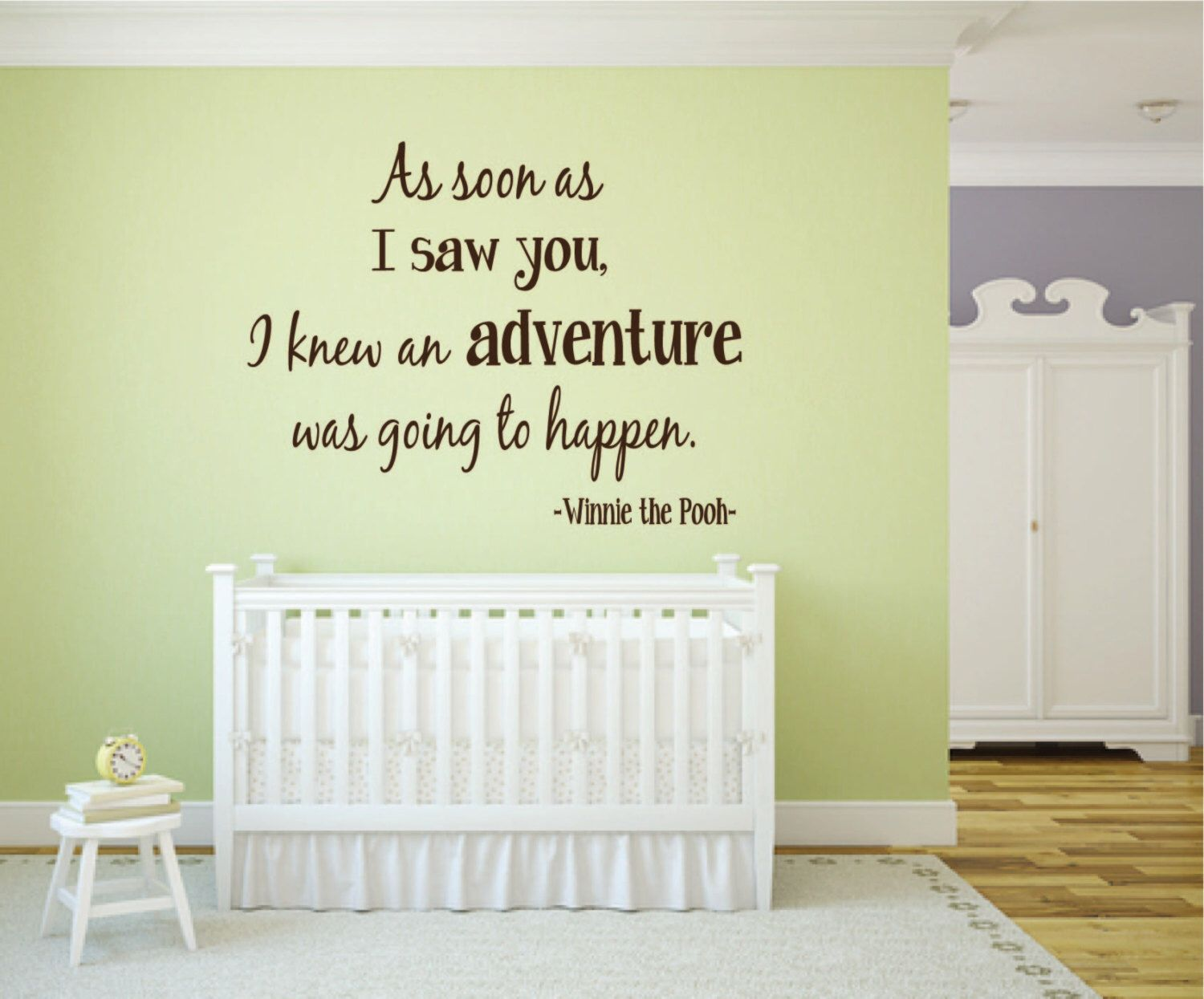 Exelent Winnie The Pooh Wall Art Quotes Motif - Wall Art Collections ...