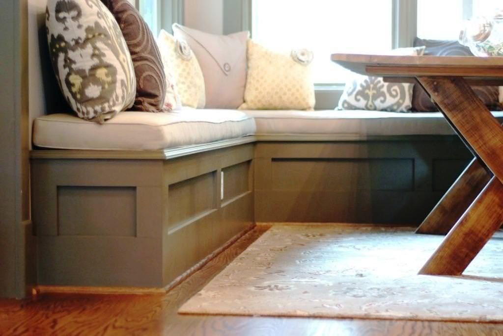 Ordinaire Benches For Breakfast Nook 4 Amazing Design On Diy Bench For Breakfast Nook