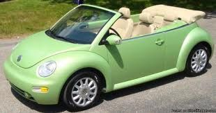 Green Vw Convertible Beetle My Dream Car