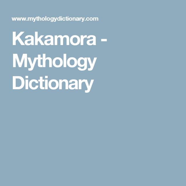 Kakamora Mythology Dictionary Maaseh Pinterest