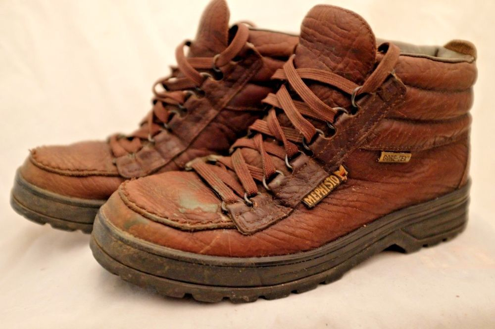 Mephisto Sierra Hiking Boots Mens Brown Leather Gore Tex US