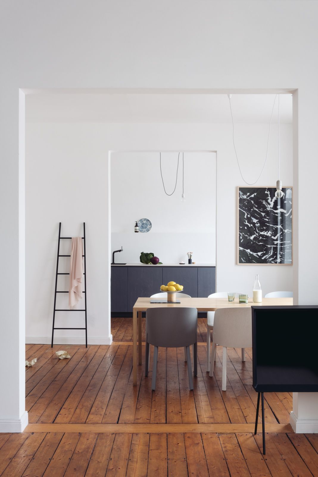 Kitchen And Interior In Cologne Minimalist Living Room Living