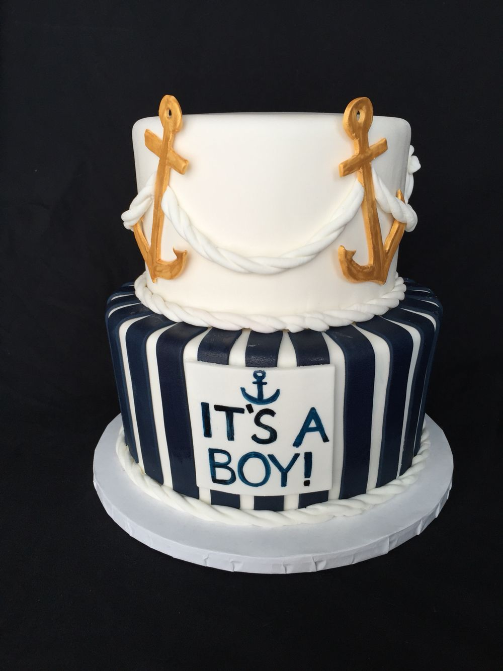 Nautical themed Baby Shower Short North Piece of Cake Columbus