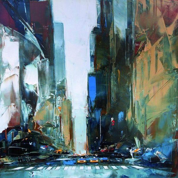 Daniel castan abstrakcje pinterest for Castan peintre