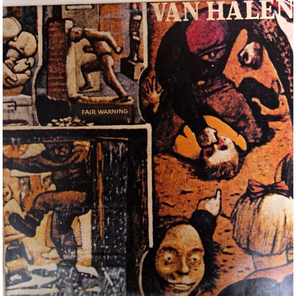 Van Halen Fair Warning Portadas De Albumes De Rock Portadas De Discos Discos De Vinilo
