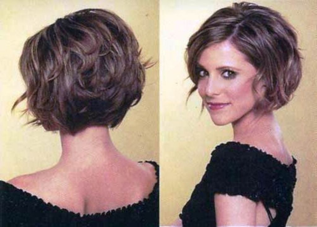Short Stacked Hairstyle For Thick Hair Latest Short Stacked