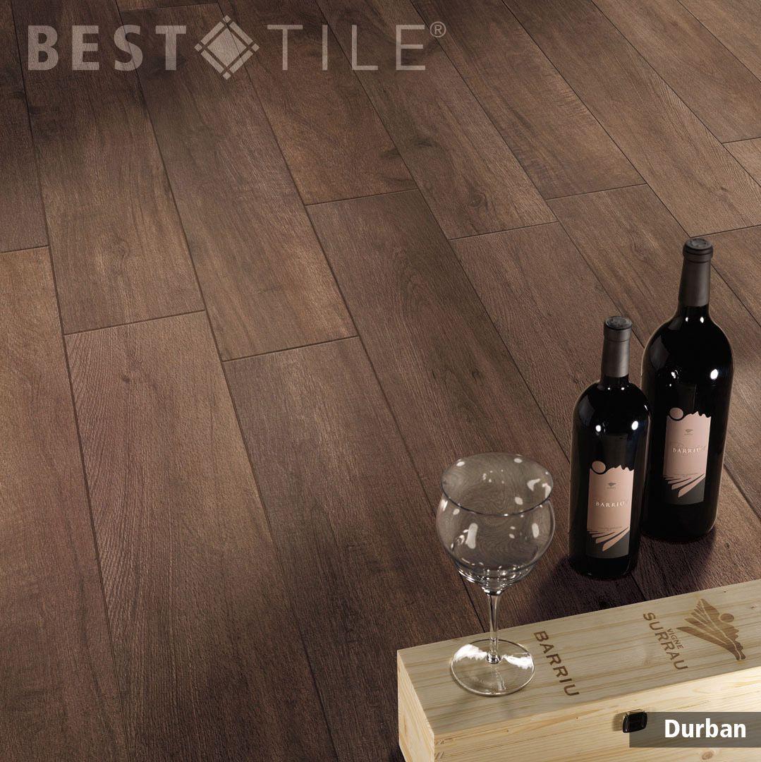 Wood Look Durban Porcelain Tile Shown In Color Dark 8x48 Available At Besttile Flooring Tile Floor Wood Effect Tiles