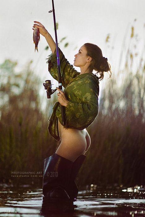 fish in girl nude