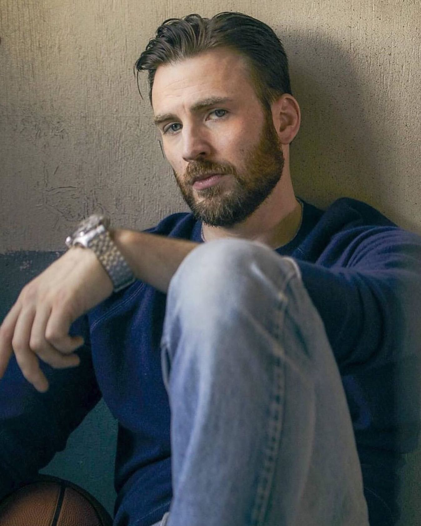 tbt New Outtake from Mens Journal Photoshoot .teamcevans is sharing  instagram posts and you can see pictures … | Chris evans, Chris evans  beard, Christopher evans