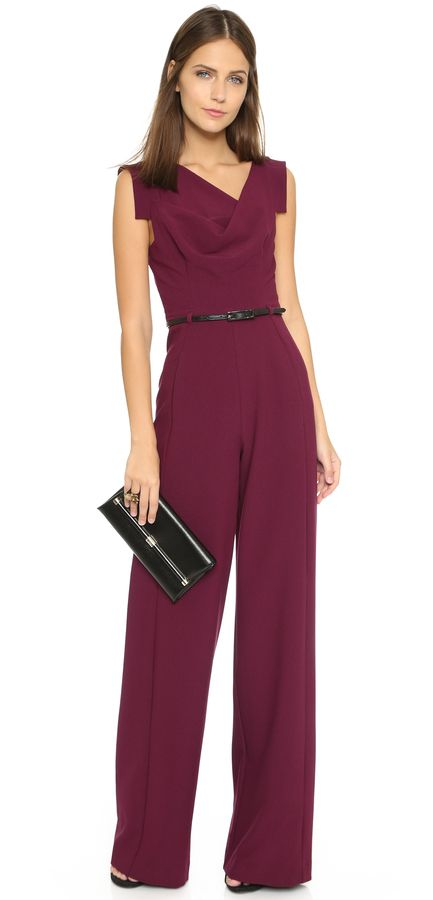 30 elegante jumpsuits die jedes cocktailkleid ersetzen fashion overall damen overall damen. Black Bedroom Furniture Sets. Home Design Ideas