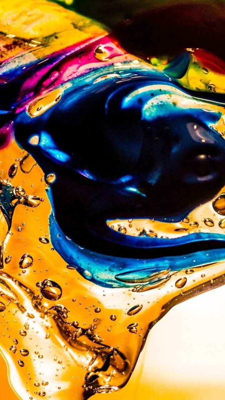 Water Color Dipping Colorful Wallpaper Iphone Wallpaper Photos Abstract Wallpaper Wallpaper
