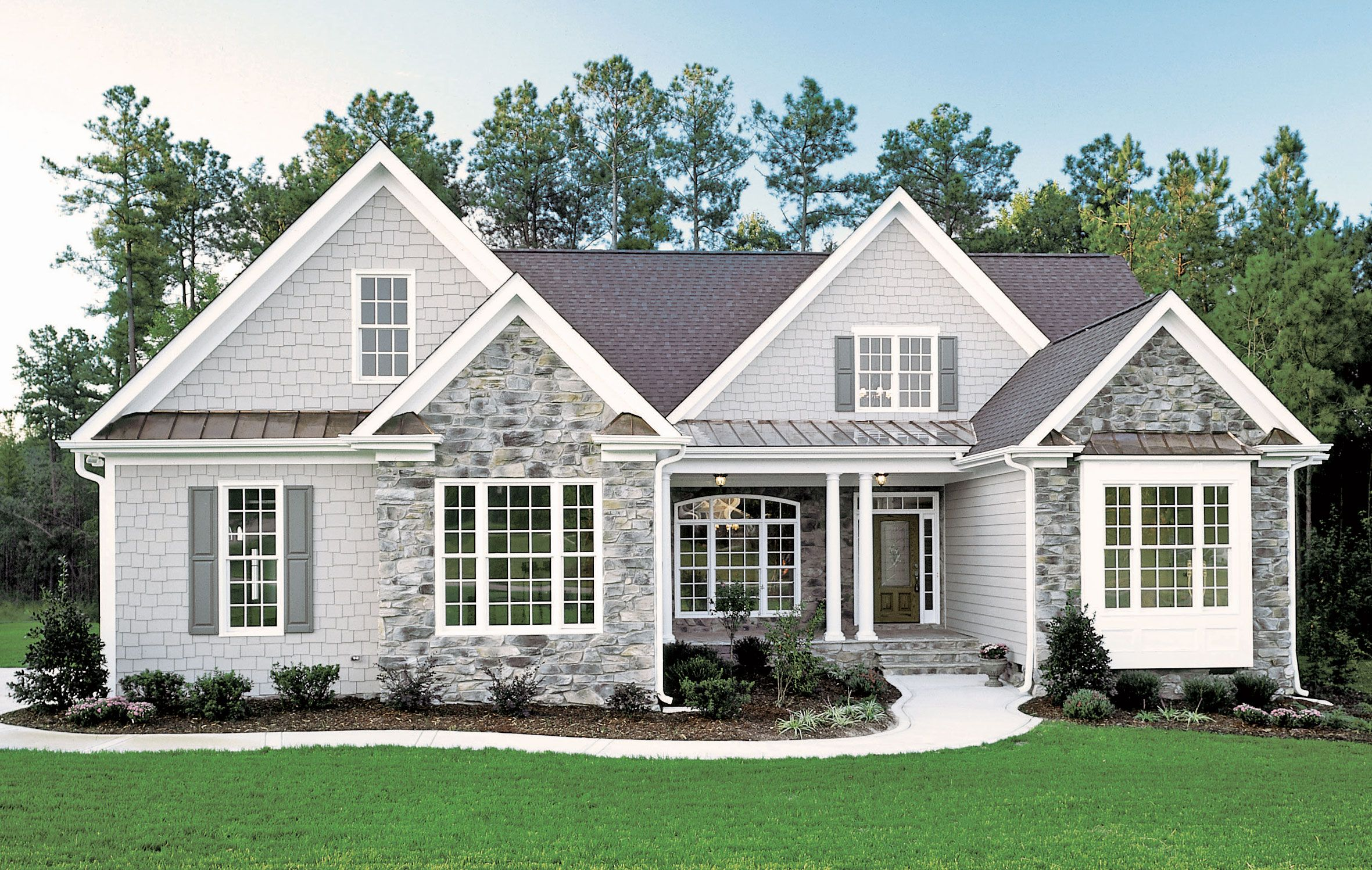 The Whiteheart Plan 926 House Exterior Exterior House Colors Small House Plans