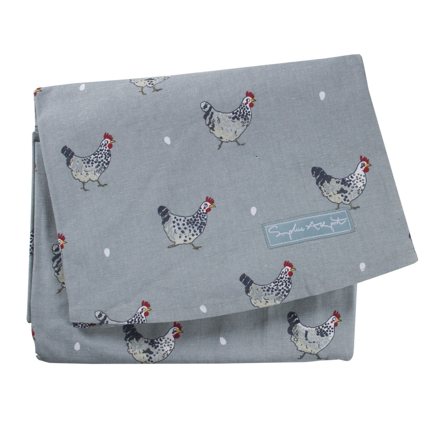 Circular Tablecloth - 'Chickens' from Sophie Allport