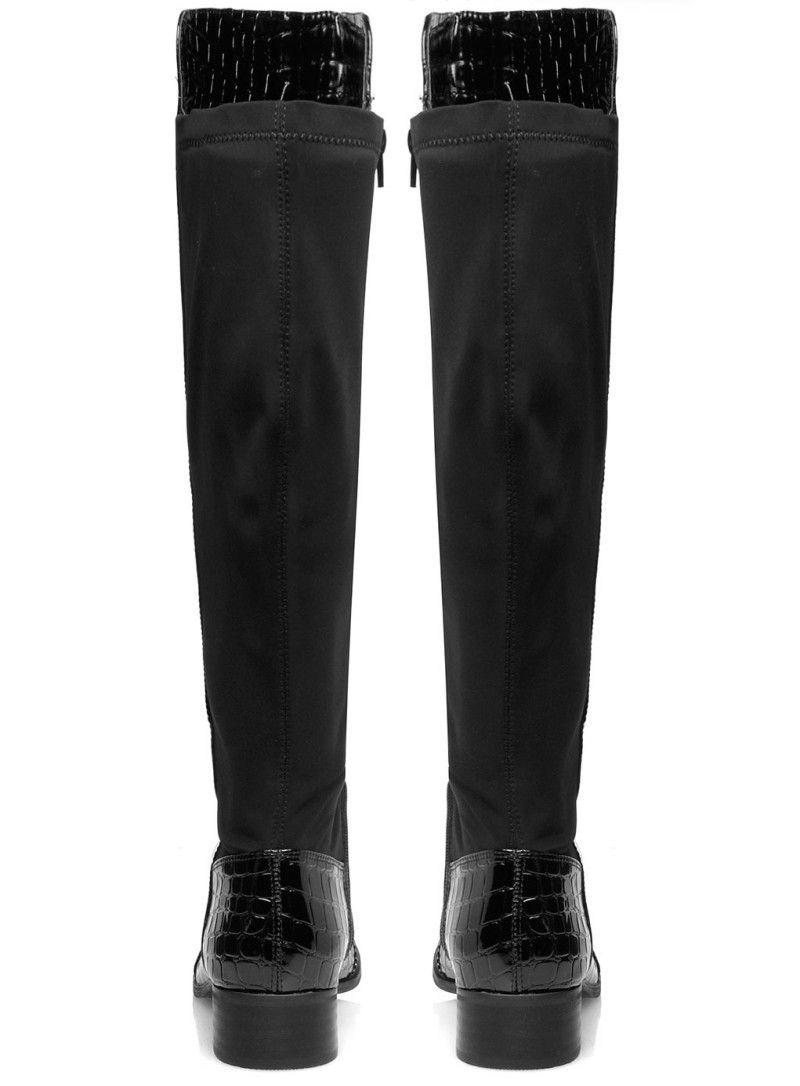 81a8760200 botas europeas en charol para mujer largas - Google Search