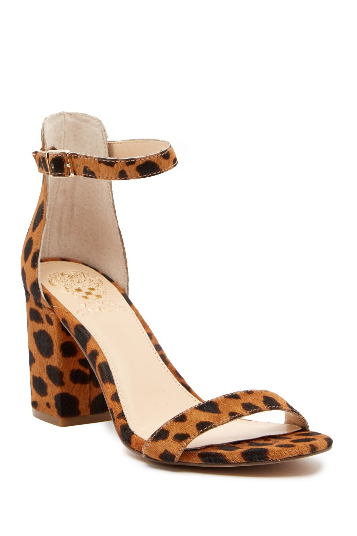 fe391e8e4bc Beah Block Heel Ankle Strap Sandal