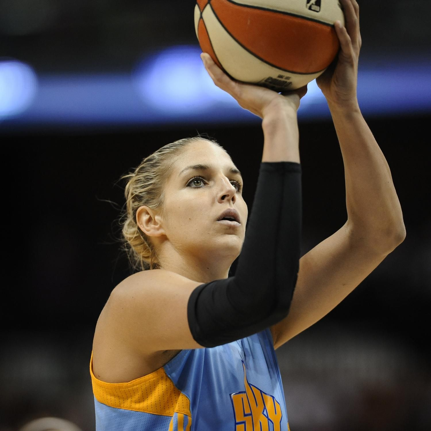 83e27188fa41 ... Celebrity All-Star Game Friday night. Elena Delle Donne s comeback from  a 2014 injury and illness got the ultimate recognition Wednesday.