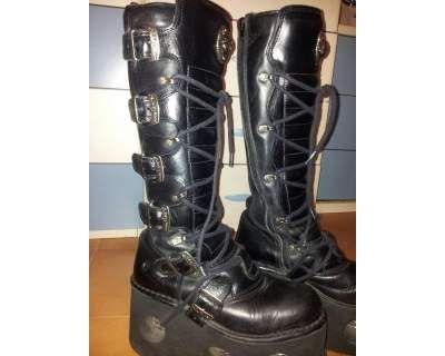 new arrivals cf0a4 3fa47 New Rock Cyber Boots 272-S2 Vendo a 90€ #shoes #anfibi ...