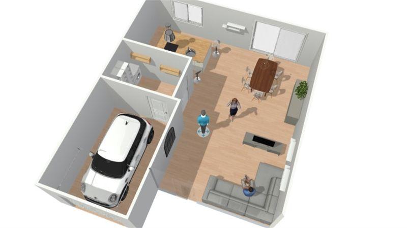 DOMONT (95): Située en limite de Montmorency, maison neuve d'une surface habitable de 101m2 offrant un séjour double...