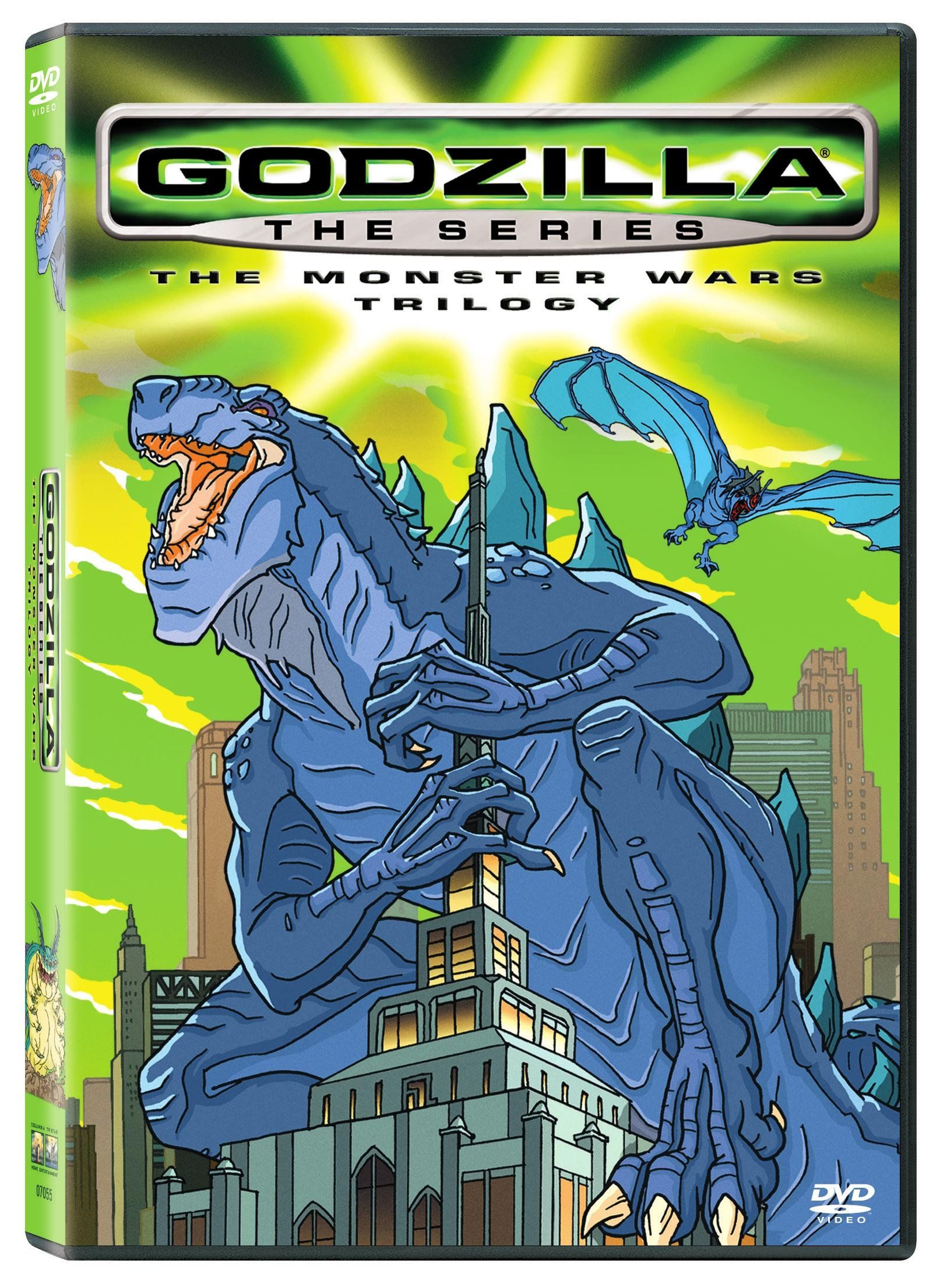 Sony Home Pictures Godzilla The Series Mutant Madness