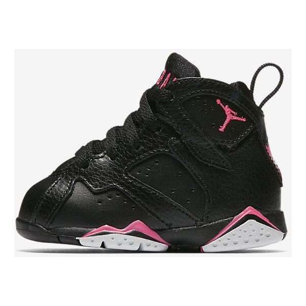 f94f66bc35f731 Air Jordan 7 Retro 30th (2c-10c) Infant Toddler Girls  Shoe. Nike.com ❤  liked on Polyvore featuring baby