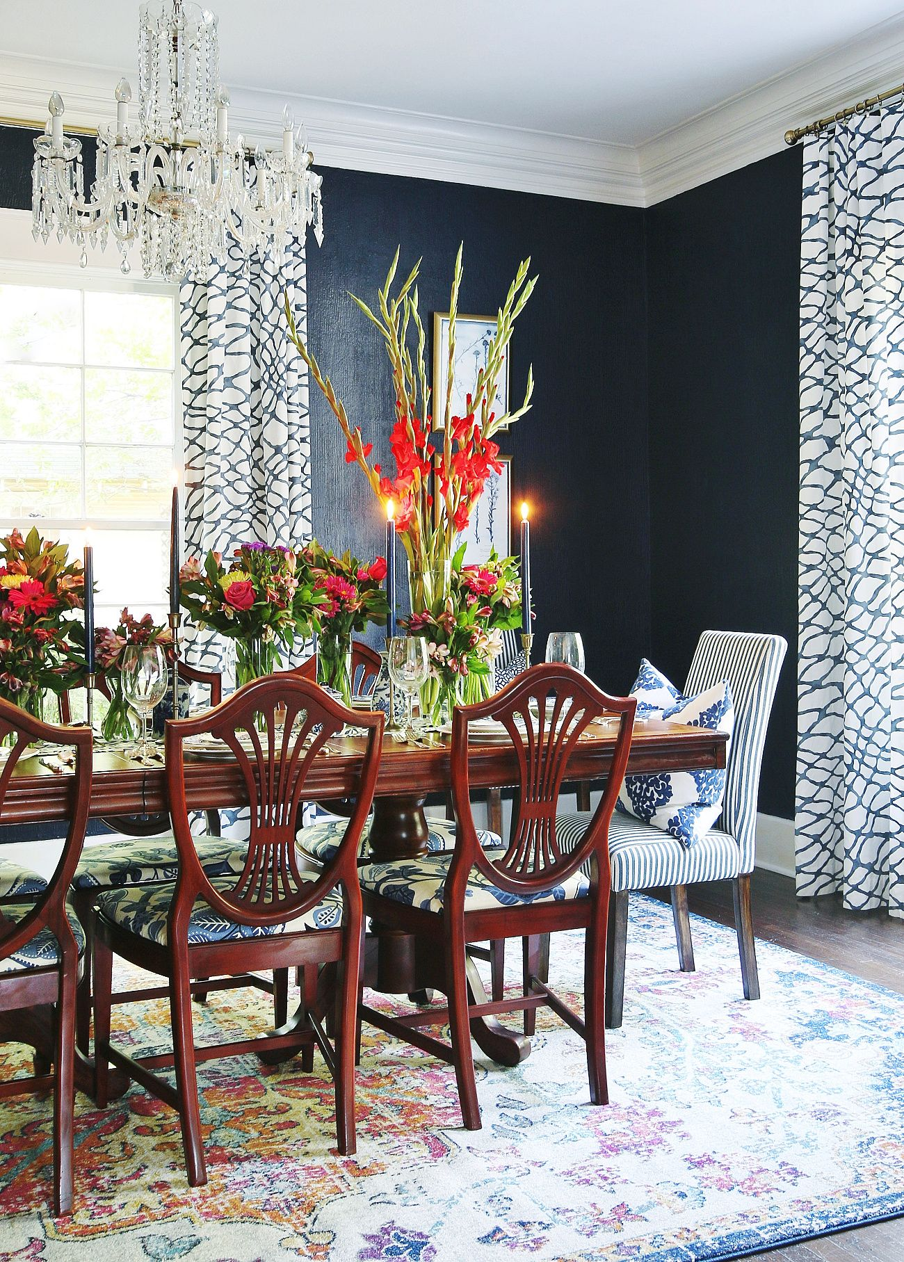 Before and After Dining Room Makeover With the Sherwin