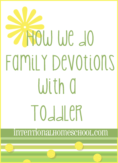 How to do christian family devotions