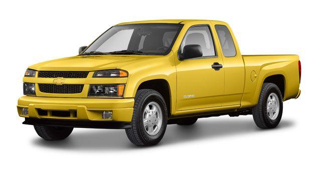 2005 Chevy Colorado Tire Size