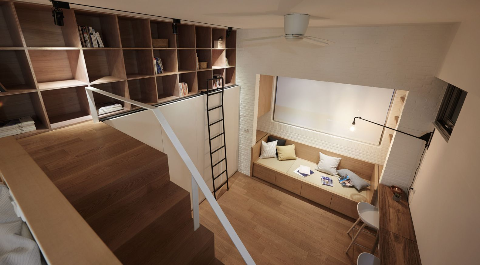 Gallery Of 22m2 Apartment In Taiwan / A Little Design   6