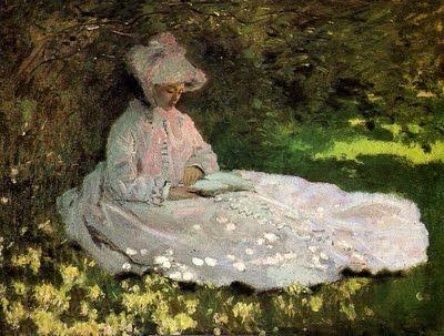 La Claude Monet (1840-1926), La liseuse