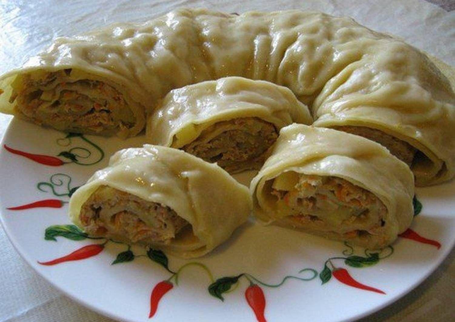 Тесто на ханум рецепт с фото