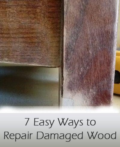 Repair Damaged Wood Furniture
