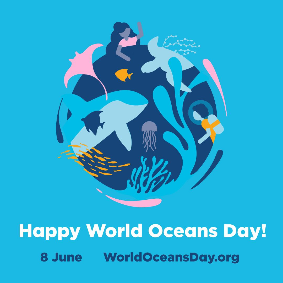 Did You Know That June 8 Is World Oceans Day This Is The Official