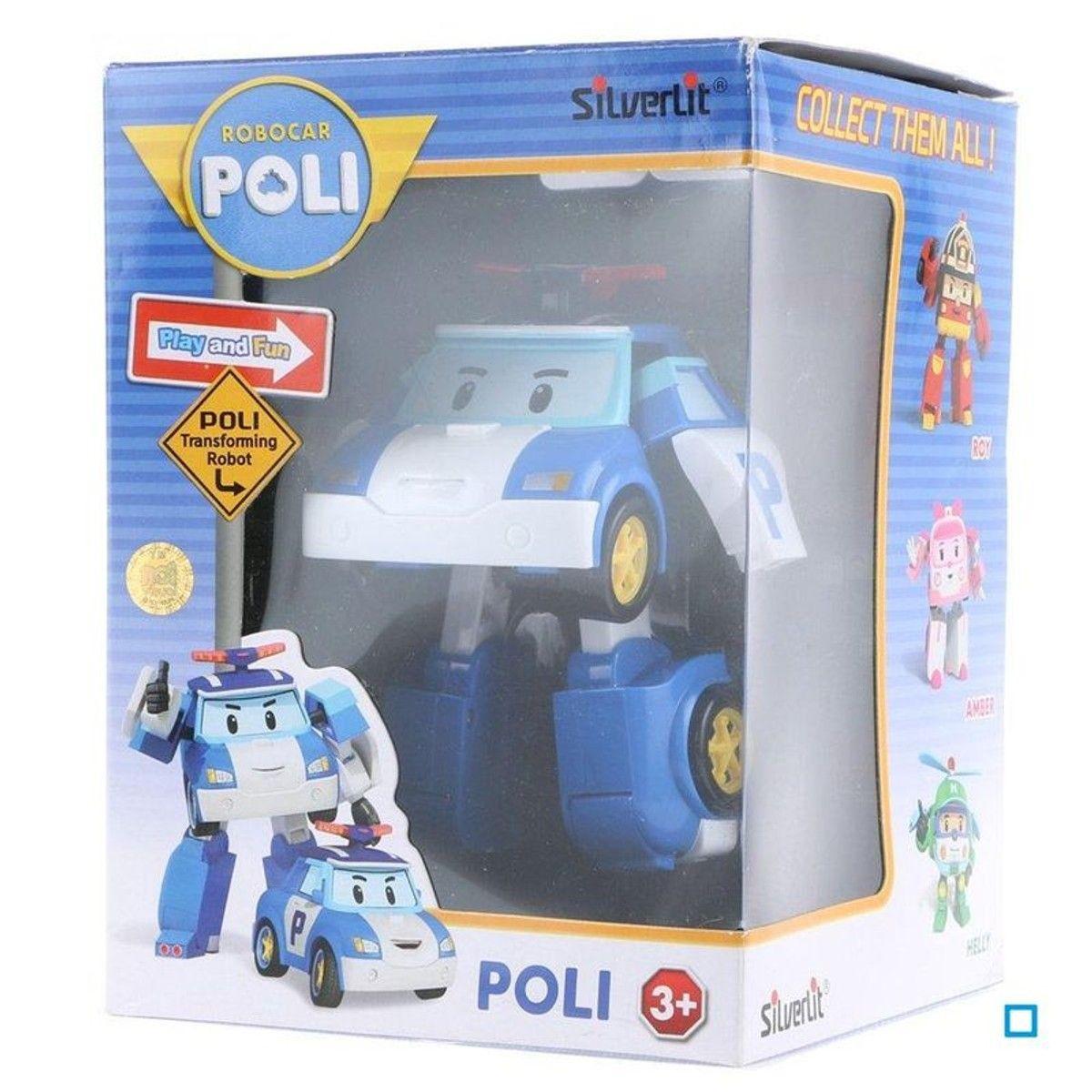 Robocar Sil83171 TailleTu Poli Véhicule Transformable gyYf7bI6v
