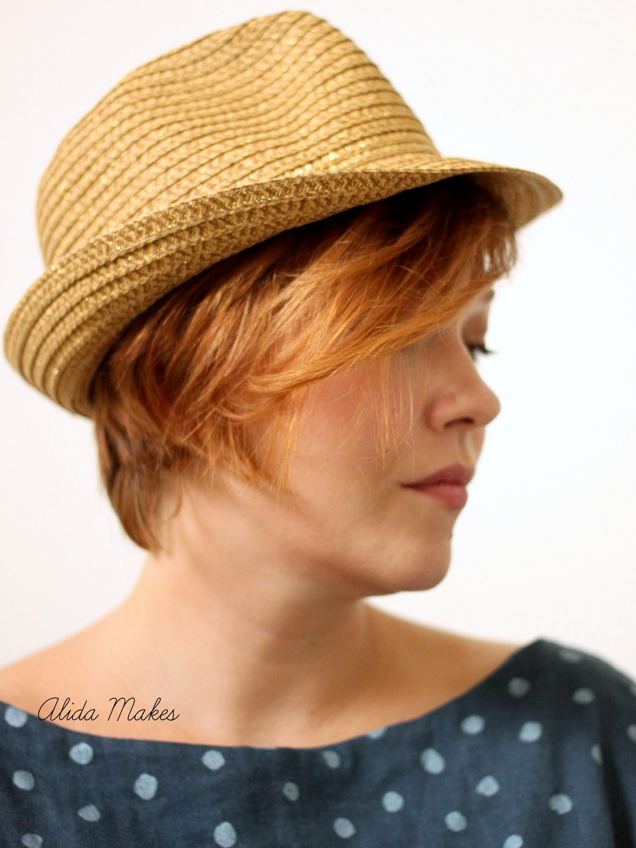 6 Ways To Style A Fedora Short Hair Styles Hair Hats