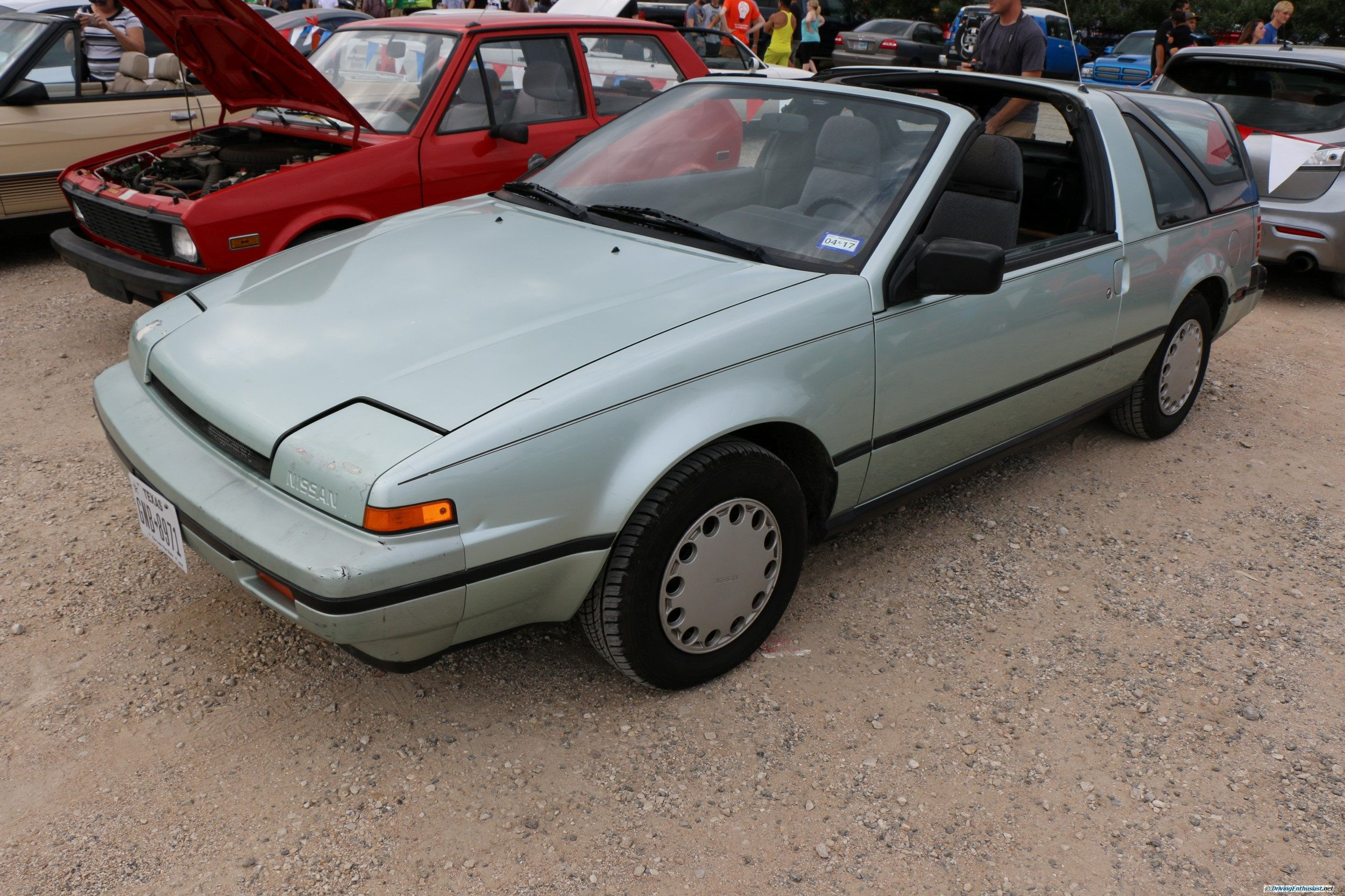 known as nissan exa in japan  code name n13  designed as a