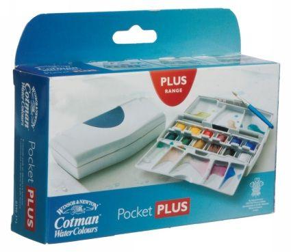 Winsor Newton Cotman Watercolour Pocket Plus Set Paint Set