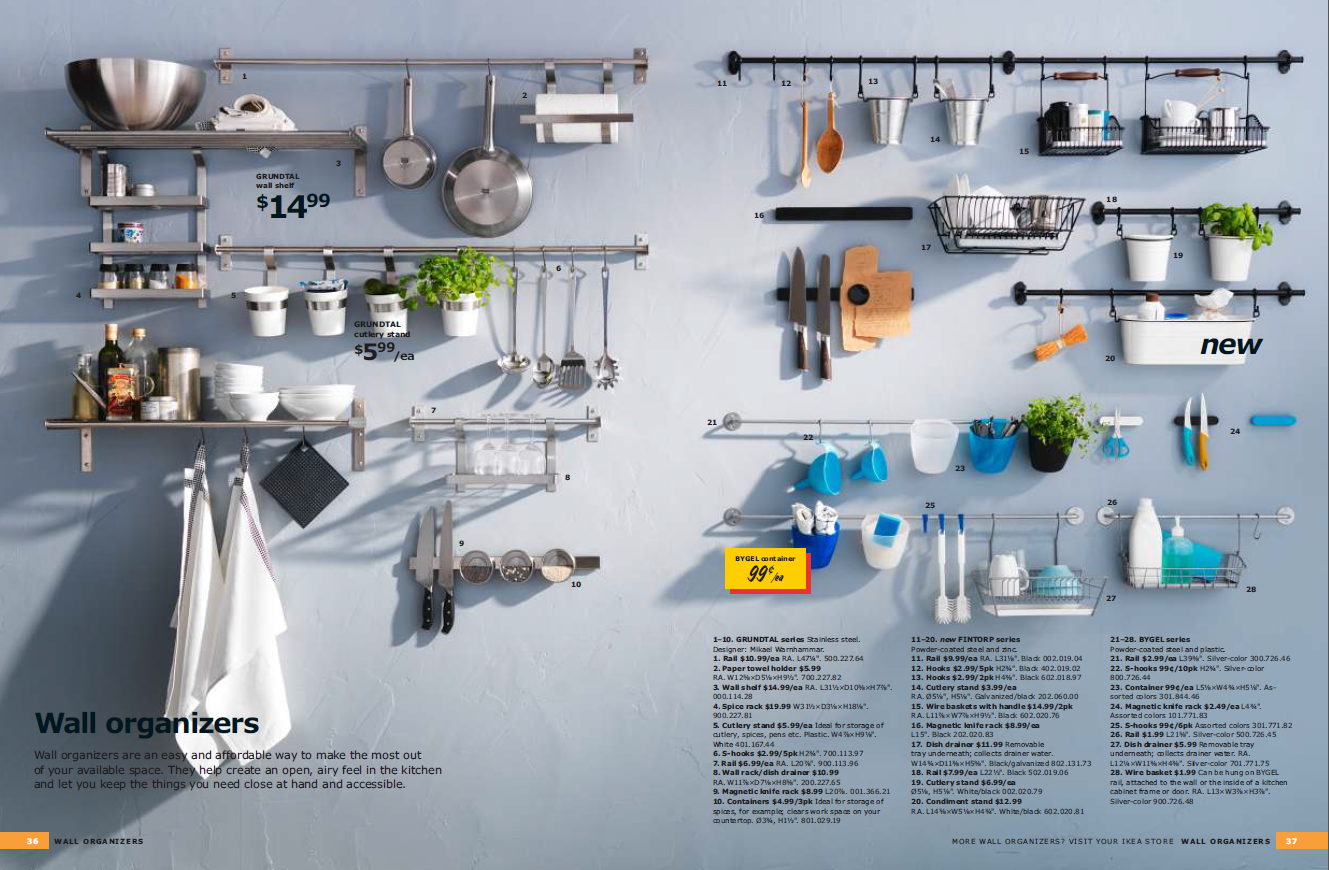 Kitchen Wall Storage Ikea Image Kitchen Organizers Still Not Convinced On Variety