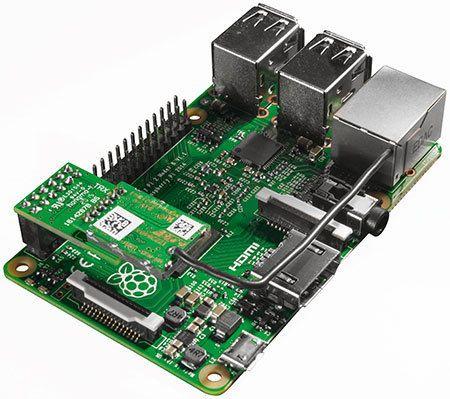 Homematic funkmodul f r raspberry pi bausatz computer pinterest bausatz elektro und bau - Tablet wandhalterung selber bauen ...
