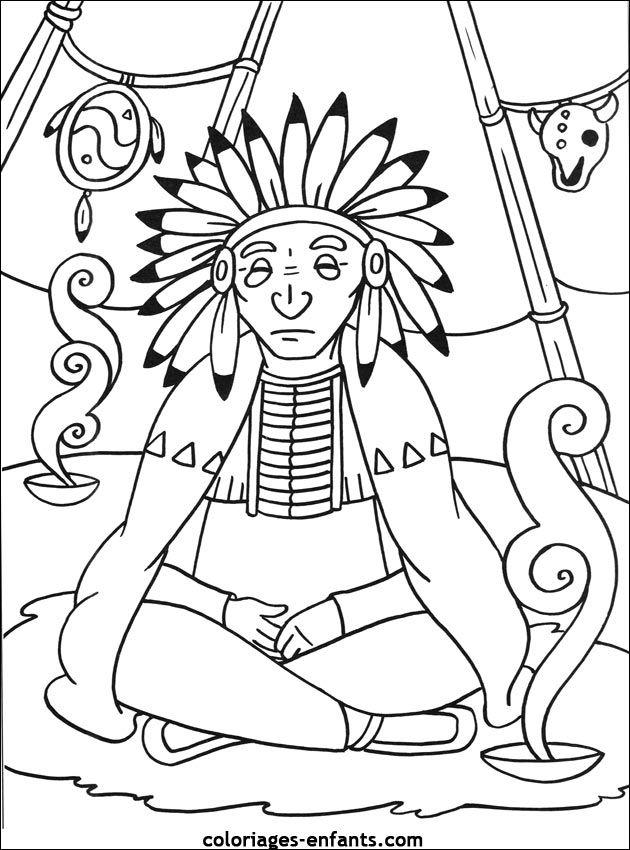 Les Coloriages Dindiens History Native Studies Pinterest