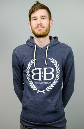 Royal Crest Pullover Hoodie (Navy)