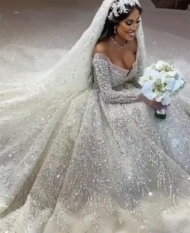 robe de mariée princesse luxe 2020