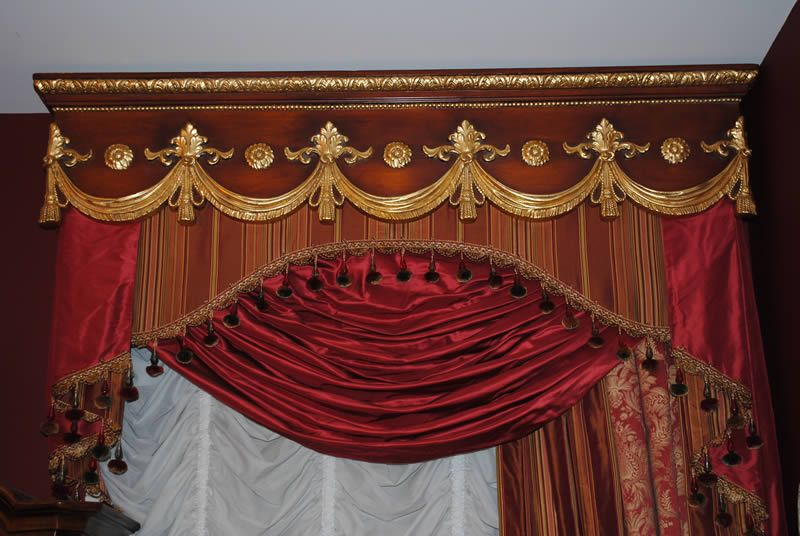 Several Layers With A Hand Carved Cornice-Decor