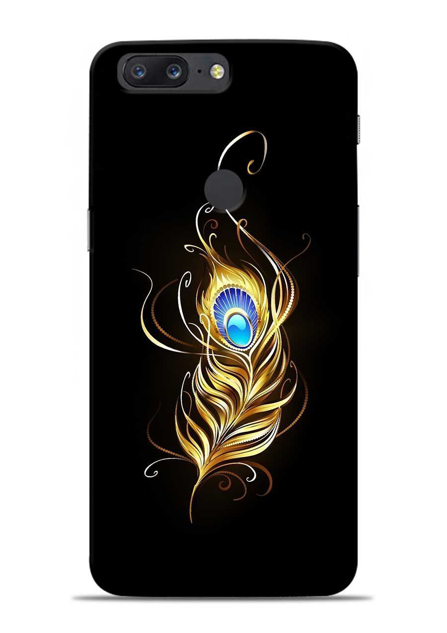 new style 921e9 8e76e Buy Lord Krishna Feather - OnePlus 5T Back Cover & Cases is very ...
