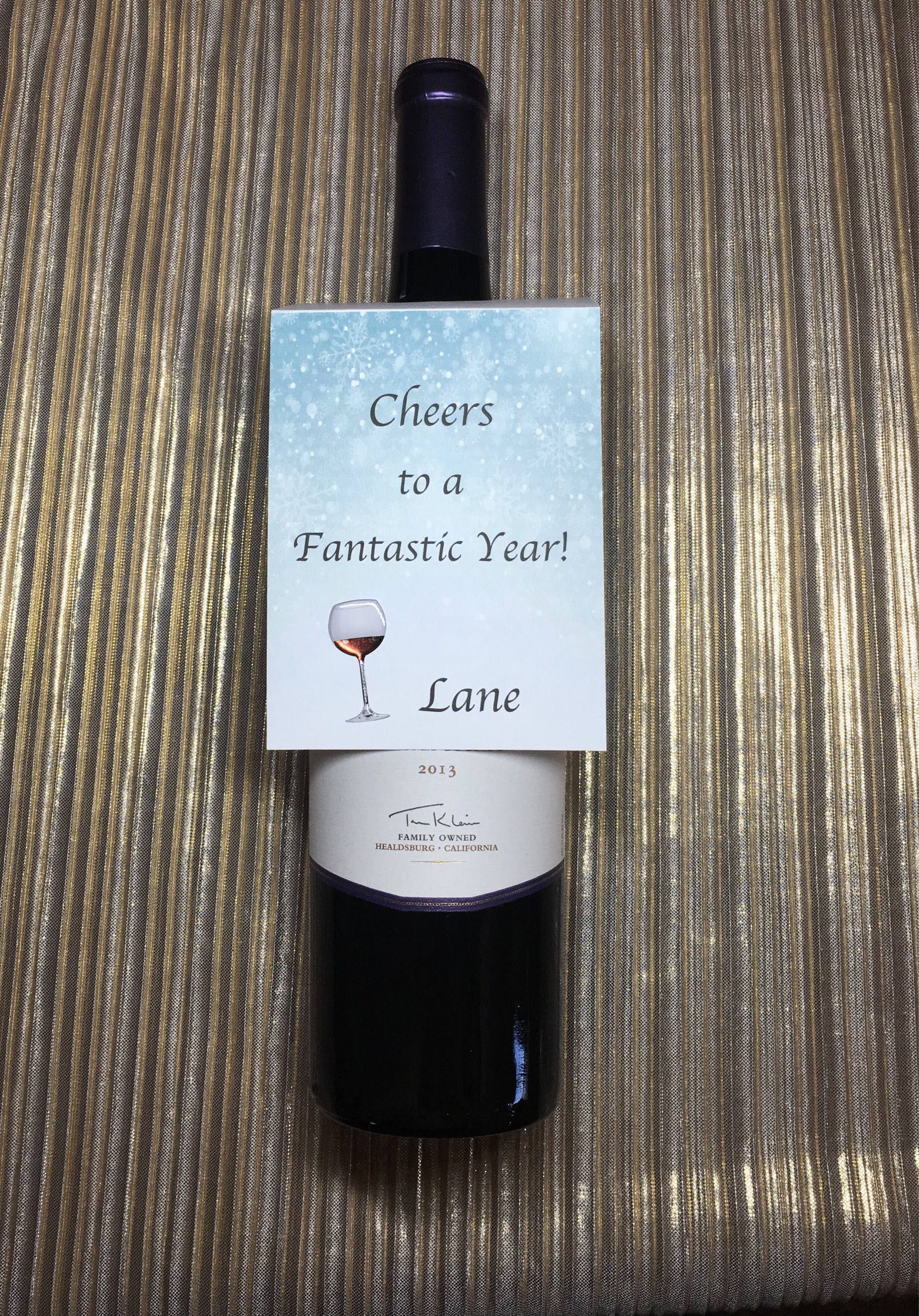 Etched Accessories Wine Neck Labels Wine Neck Tags Wine Design