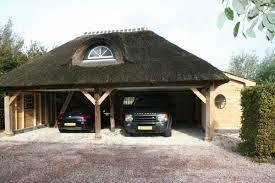 Afbeeldingsresultaat voor carport met rieten dak | carport | Pinterest