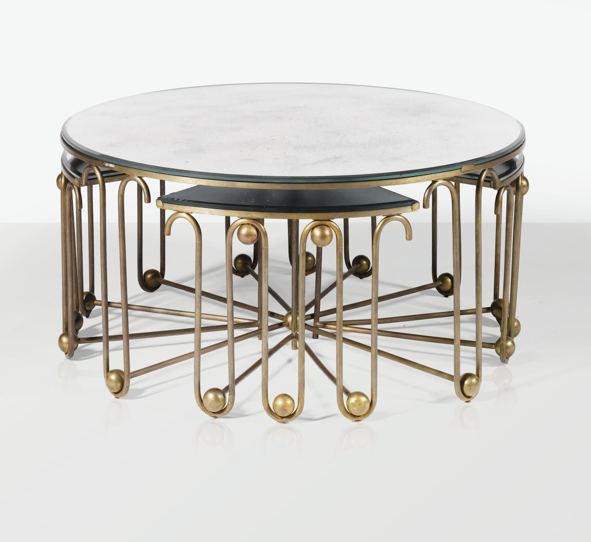 Jean Royere Lot Coffee Table Coffee Table Inspiration Mirrored Coffee Tables [ 1834 x 2000 Pixel ]
