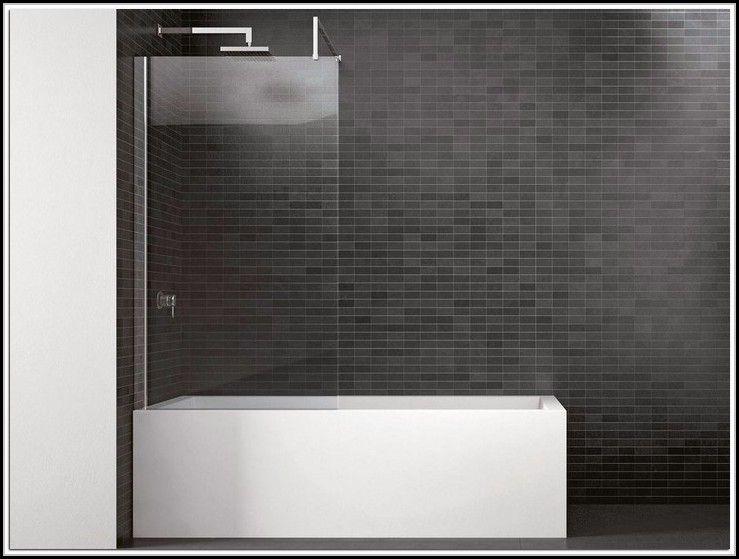 Duschwand Badewanne Glas Fest Duschwand Badewanne Mit Dusche